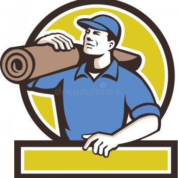 carpet-layer-carpet-roll-circle-retro-illustration-male-carrying-shoulder-looking-to-side-viewed-front-set-71501229